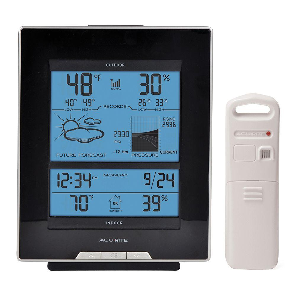 AcuRite Weather Gauges & Instruments Wireless Weather Forecaster 01098R