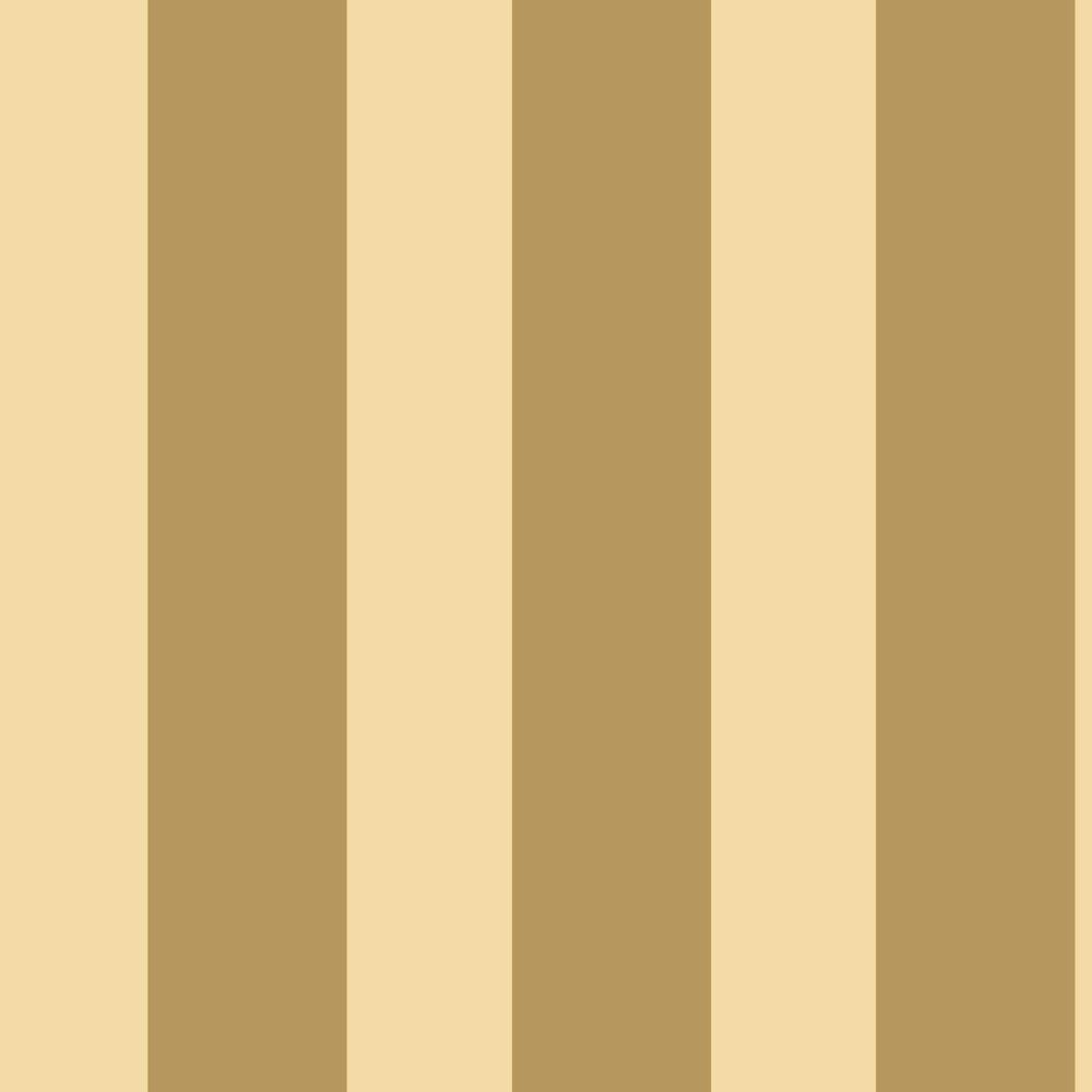 The Wallpaper Company 56 sq. ft. Gold Large Scale Stripe Wallpaper-DISCONTINUED