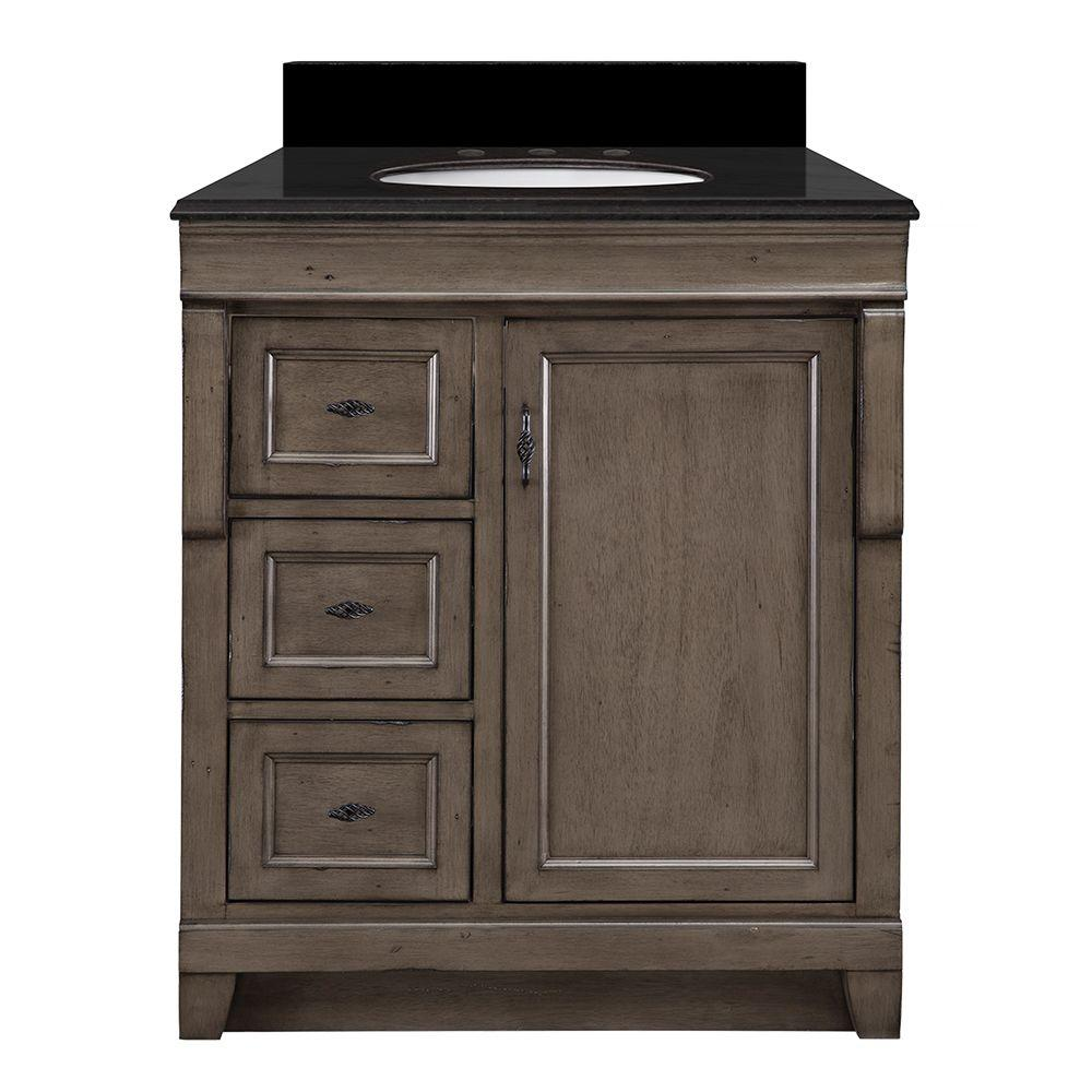 Foremost Naples 31 in. W x 22 in. D Vanity in