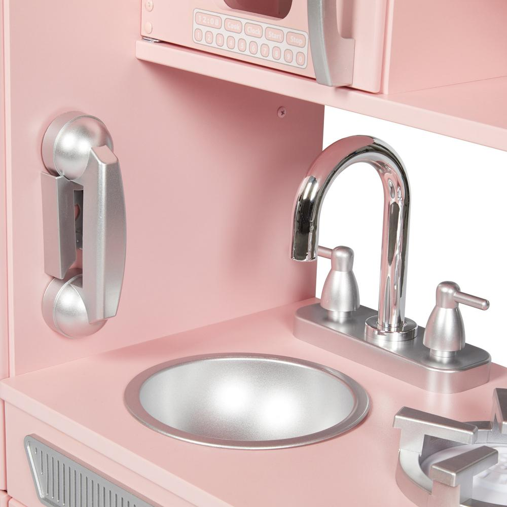 KidKraft Pink Vintage Kitchen Playset-53179