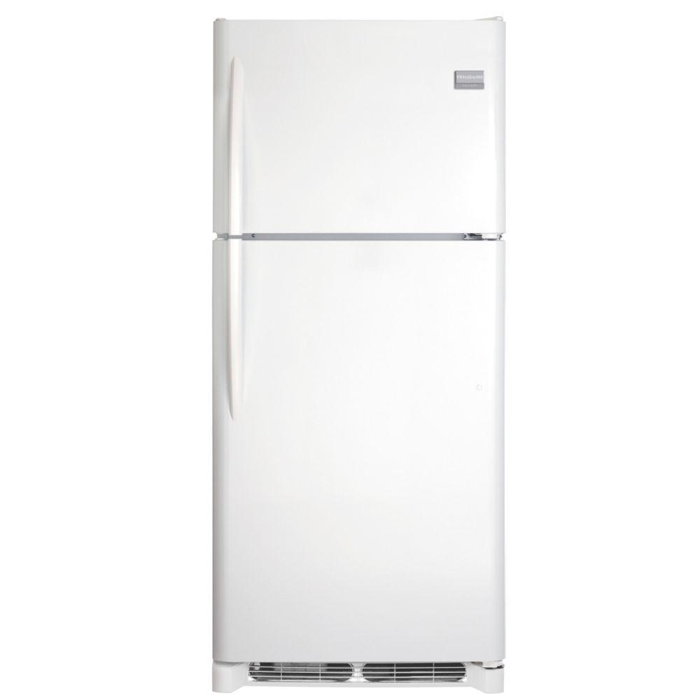 Frigidaire Gallery 20.5 cu. ft. Top Freezer Refrigerator in Pearl, ENERGY