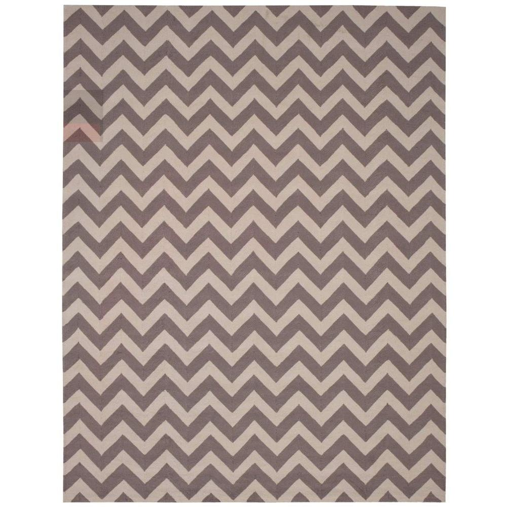 Portico Flame Stitch 8 ft. x 10 ft. 6 in. Indoor/Outdoor