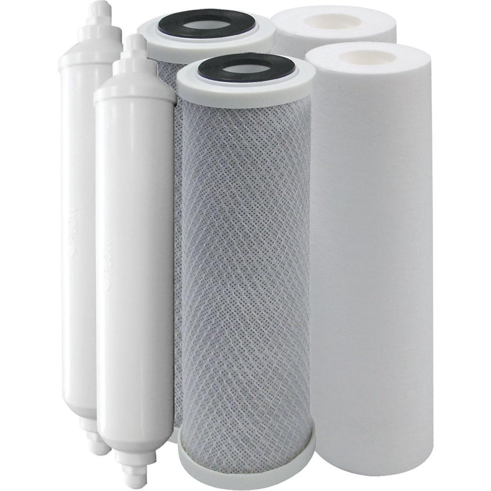 Vitapur 4-Stage Replacement Filter Kit for RO-4 Reverse Osmosis Water Treatment Systems