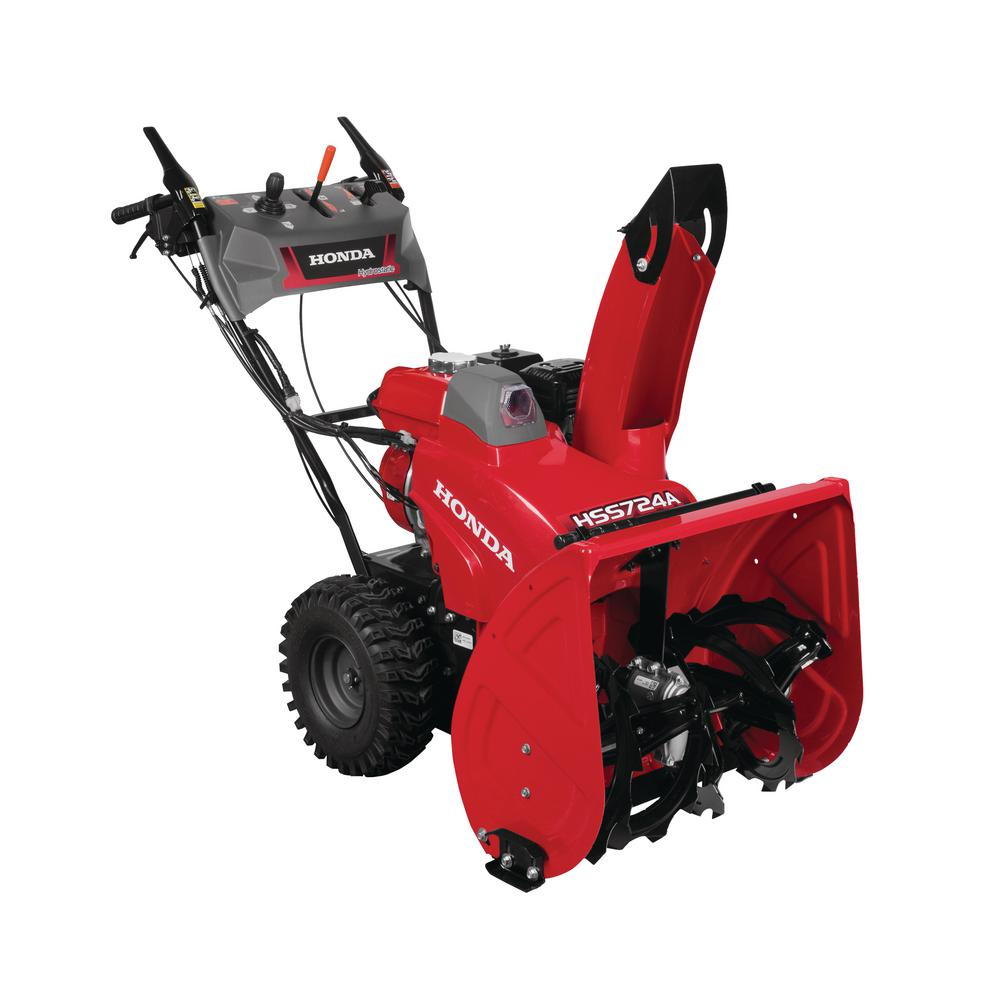 24 in. Hydrostatic Wheel Drive 2-Stage Snow Blower with Electric Joystick