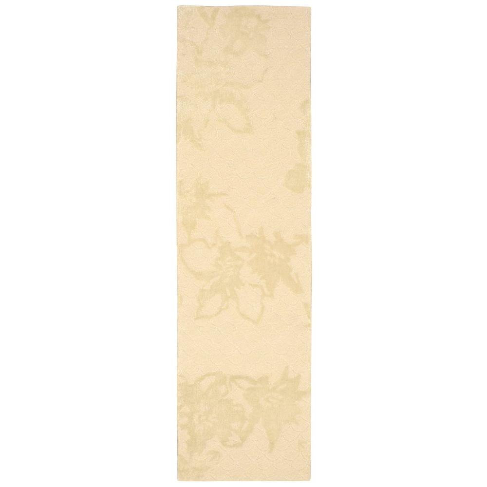 Nourison Escalade Sand 2 ft. 3 in. x 8 ft. Rug