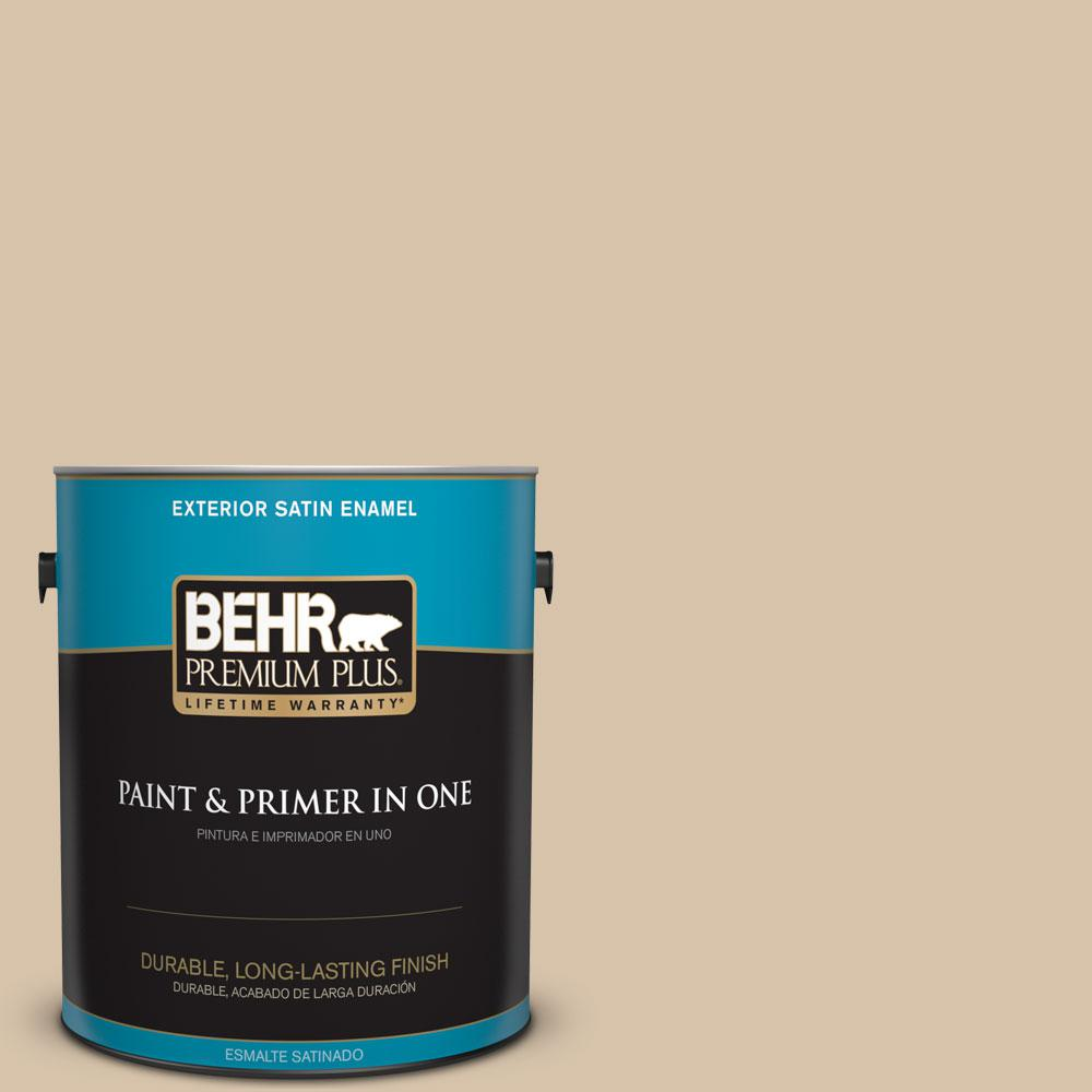 1-gal. #T14-13 Grand Soiree Satin Enamel Exterior Paint