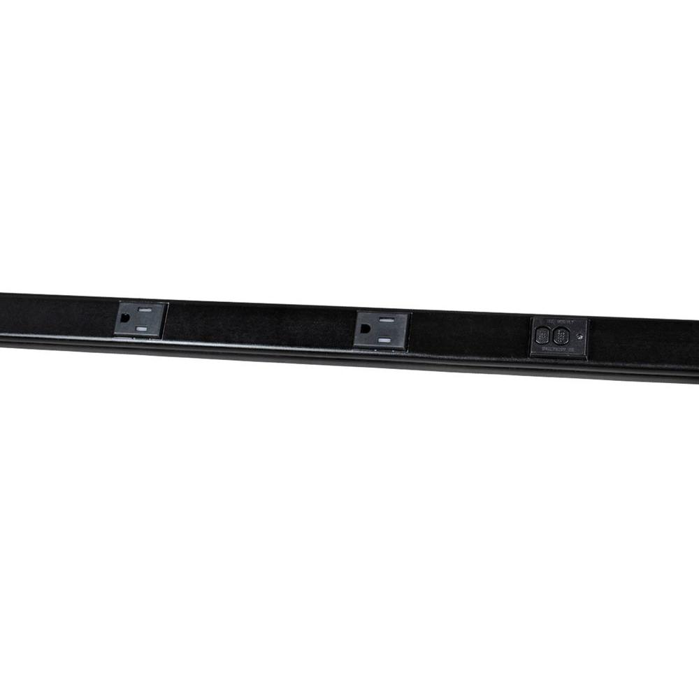 Legrand Wiremold 5 ft. Plugmold GFCI Multi-Outlet Strip with Tamper Resistant Receptacles - Black
