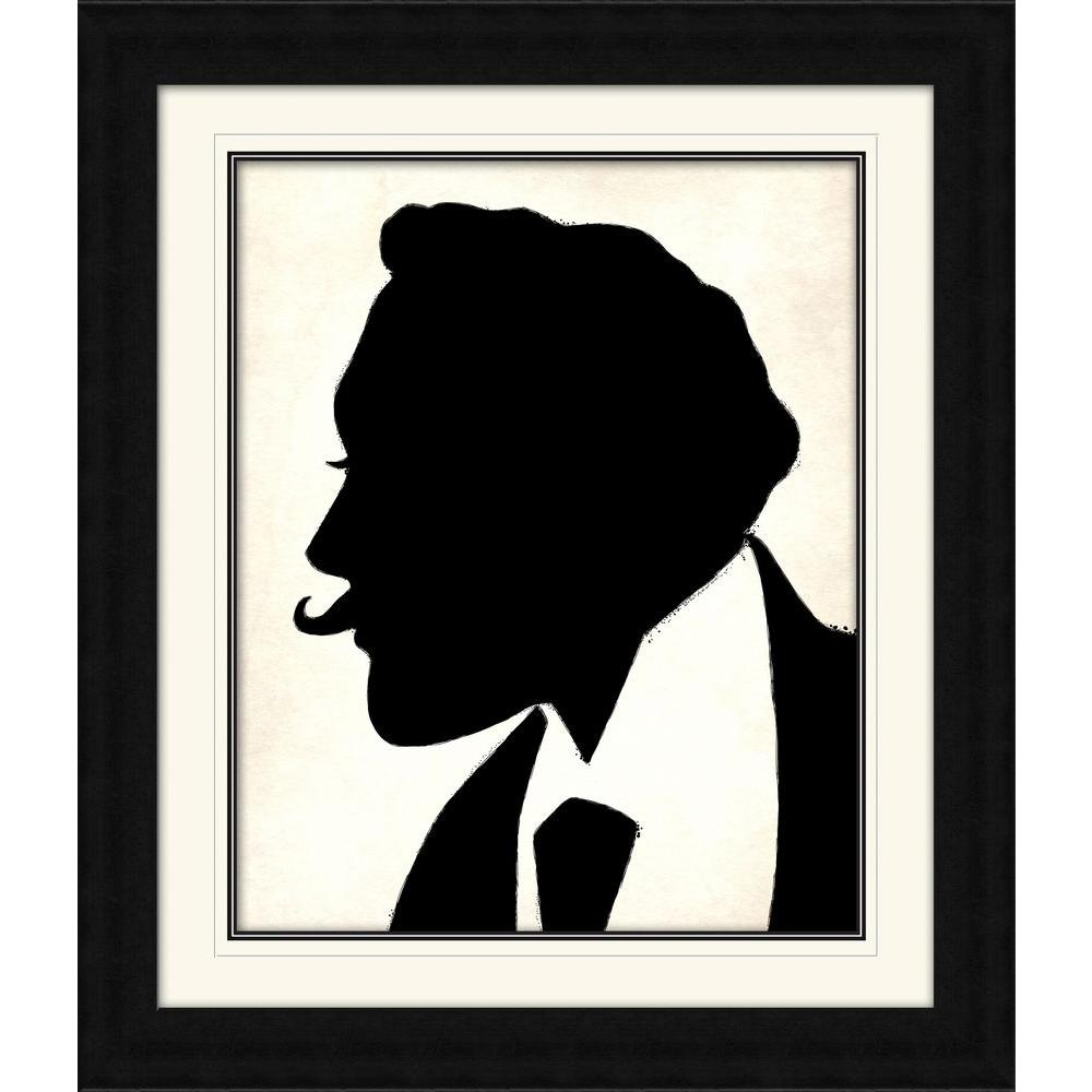 "PTM Images 28 1/4 in. x 24 1/4 in. ""The Curious Man"" Framed Wall Art"