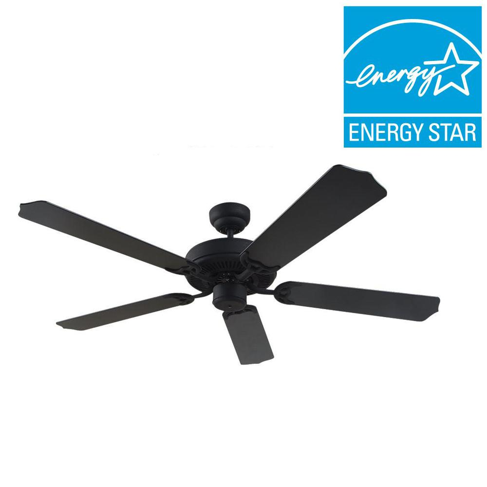 Sea Gull Lighting Quality Max Plus 52 in. Blacksmith Indoor Ceiling Fan