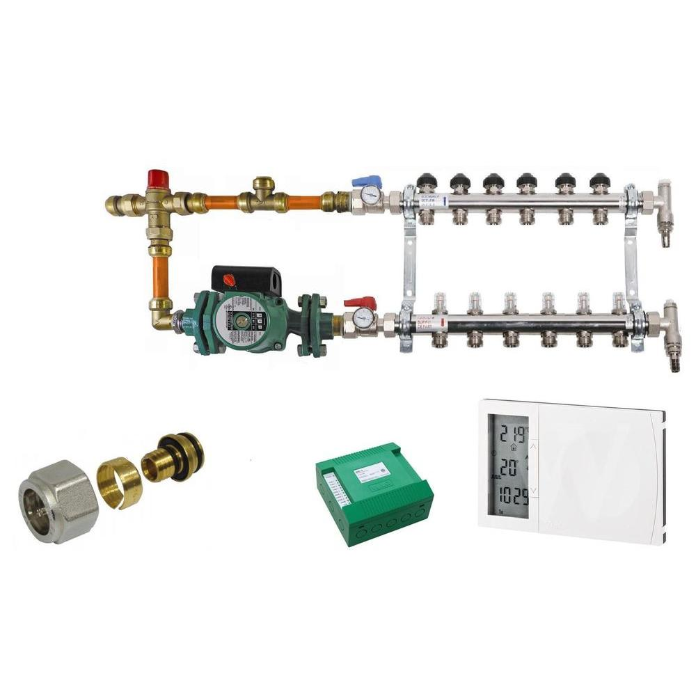 3/8 in. Radiant Heating Install Kit