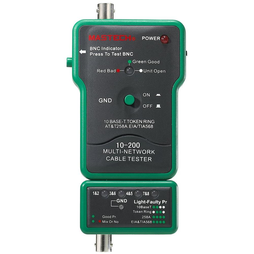 Mastech Network Tester for Coaxial BNC-10-200 (MS6810) - The Home Depot