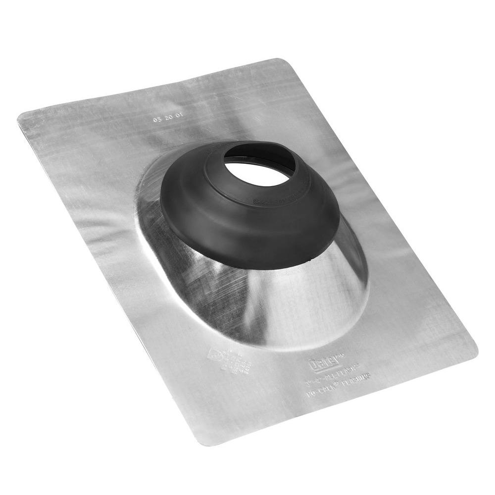 Oatey 12 in. x 15-3/8 in. Galvanized Steel Angle Flashing