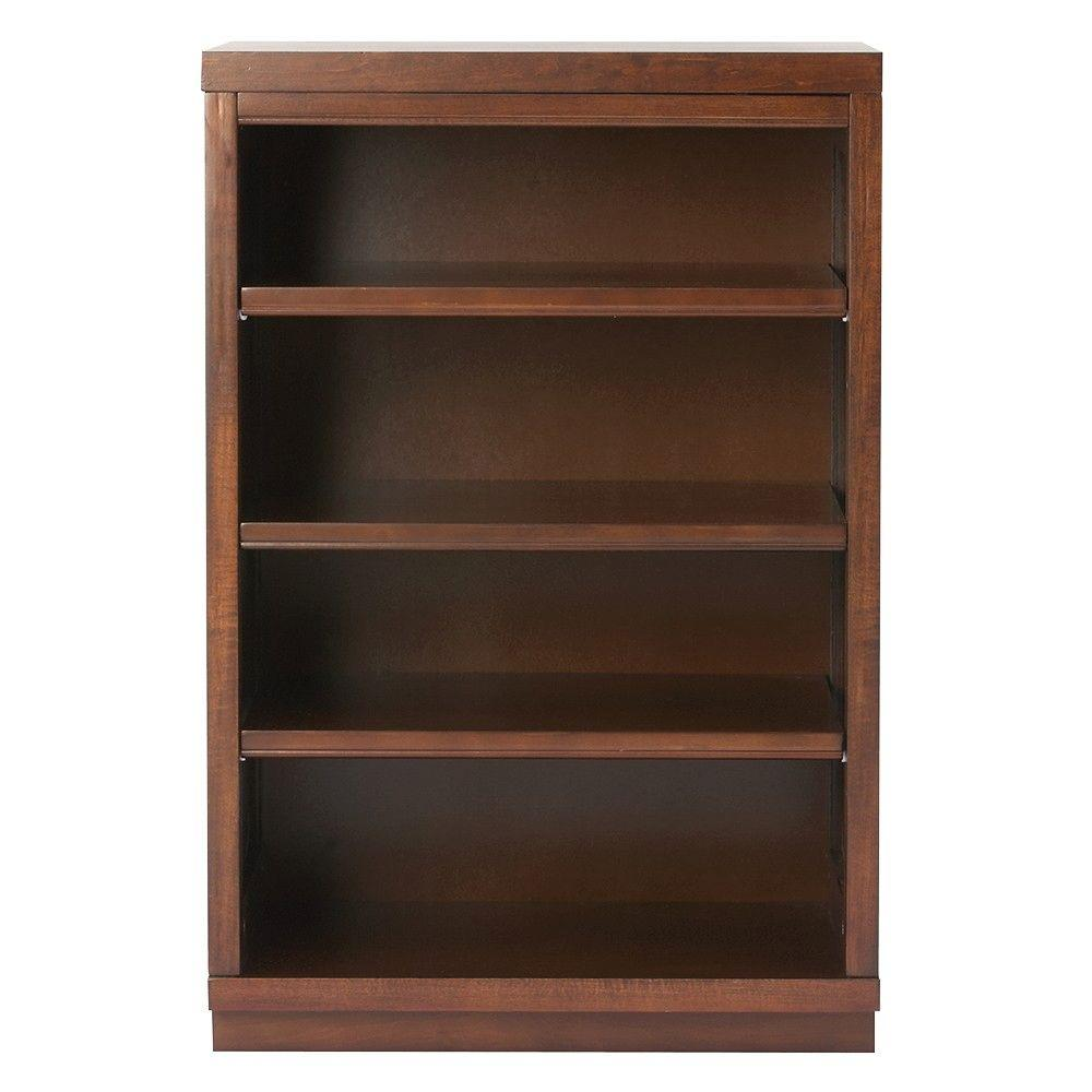 Martha Stewart Living Mudroom 3-Shelf Wood Narrow Wall Credenza Shelving Unit in Sequoia