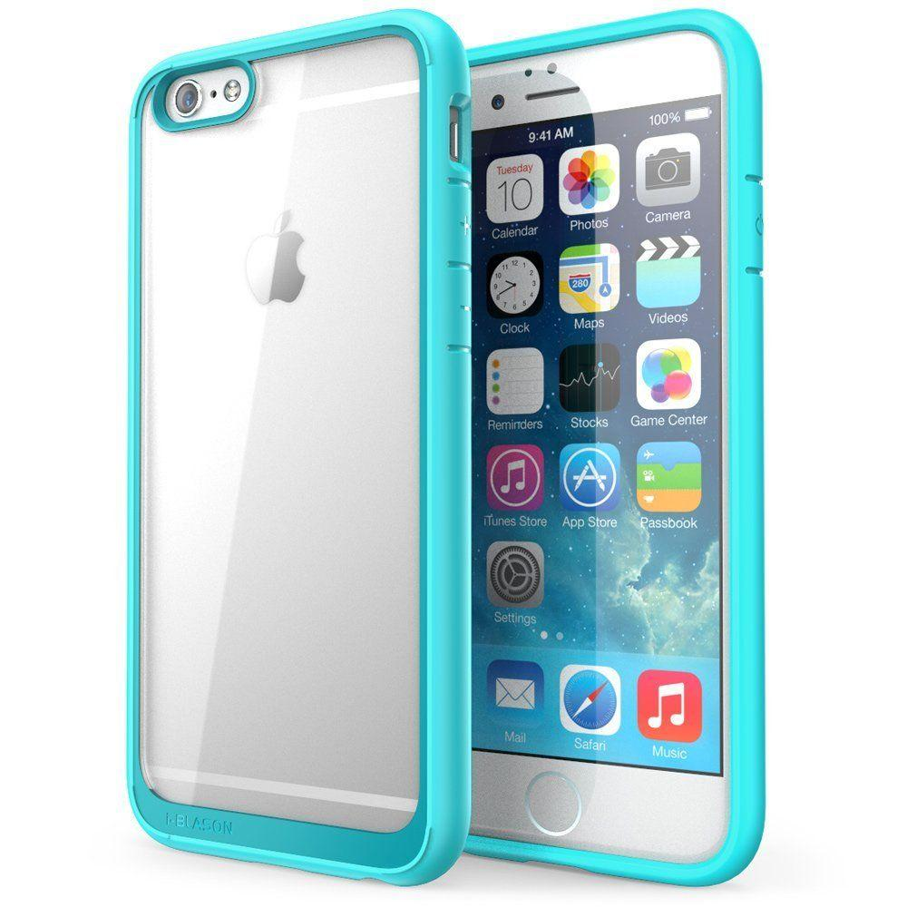 Halo Series 4.7 in. Case for Apple iPhone 6/6S, Clear Blue, Clear/Blue