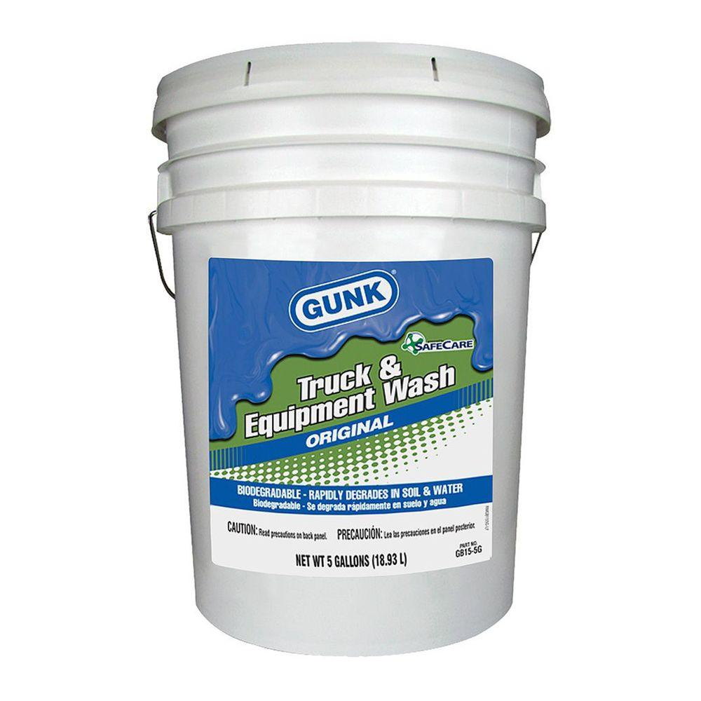 GUNK 5 Gal. Bio-Based Truck and Equipment Wash-GB15-5G - The Home