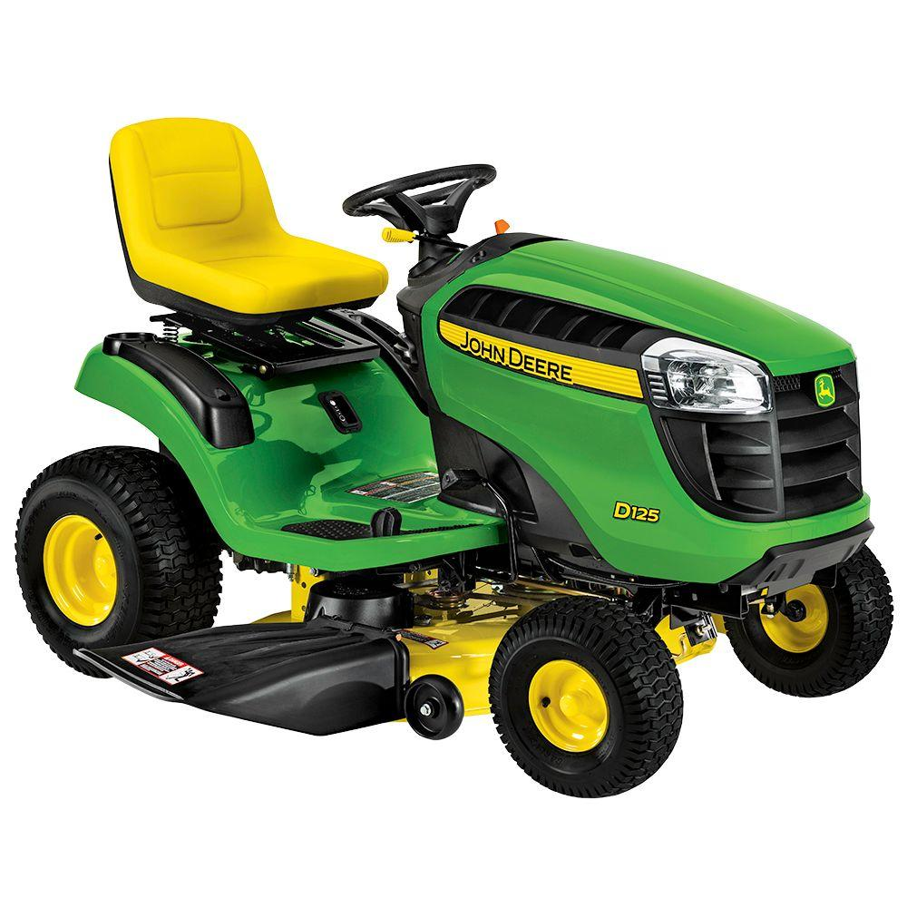John Deere D125 42 in. 20 HP V-Twin Hydrostatic Front-Engine Riding Mower