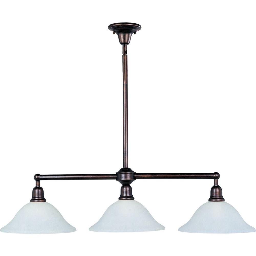Maxim Lighting Bel Air 3-Light Oil-Rubbed Bronze Pendant