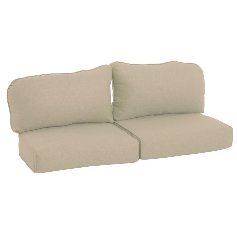 Martha Stewart Living Lily Bay-Lake Adela Sand Replacement Outdoor Loveseat