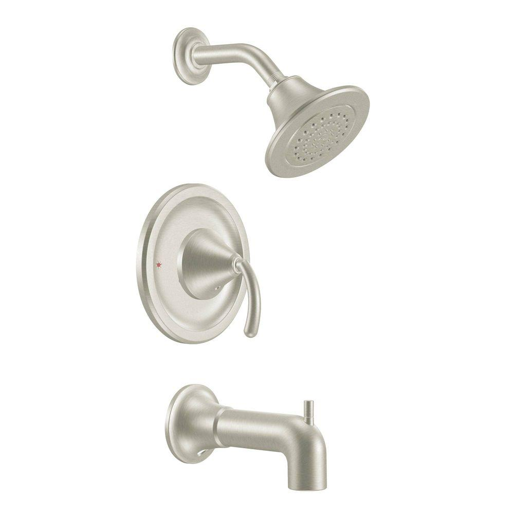 Icon Posi-Temp Single-Handle 1-Spray Tub and Shower Faucet Trim Kit in