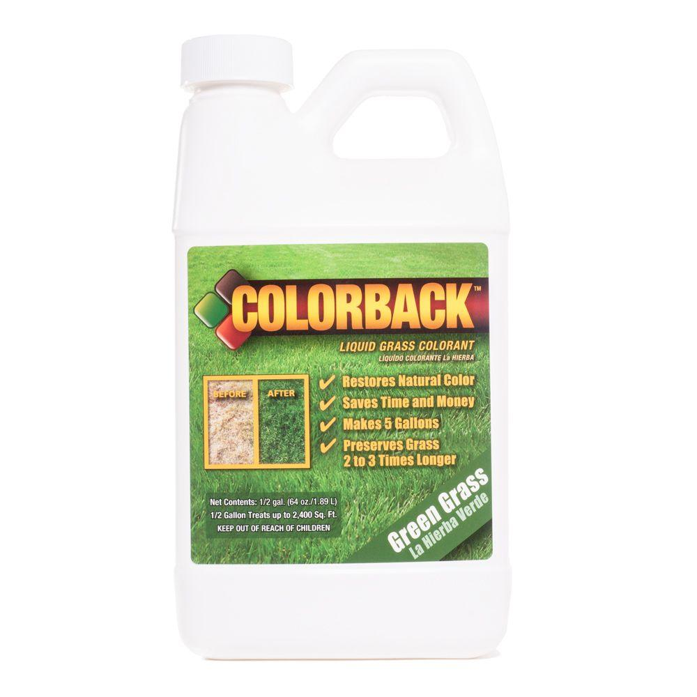 1/2 Gal. Green Grass Colorant Covering up to 1800 sq. ft.