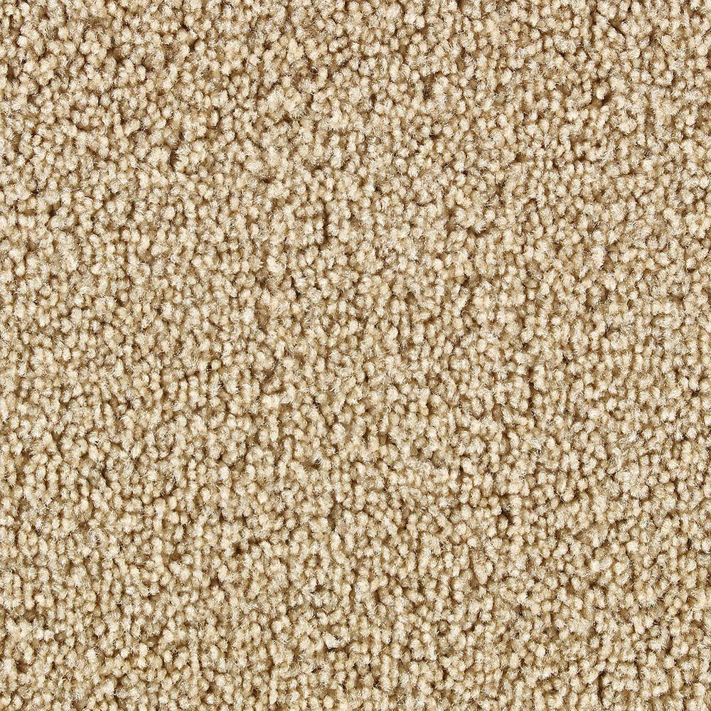Martha Stewart Living Beechwood Fawn - 6 in. x 9 in. Take Home Carpet Sample-DISCONTINUED