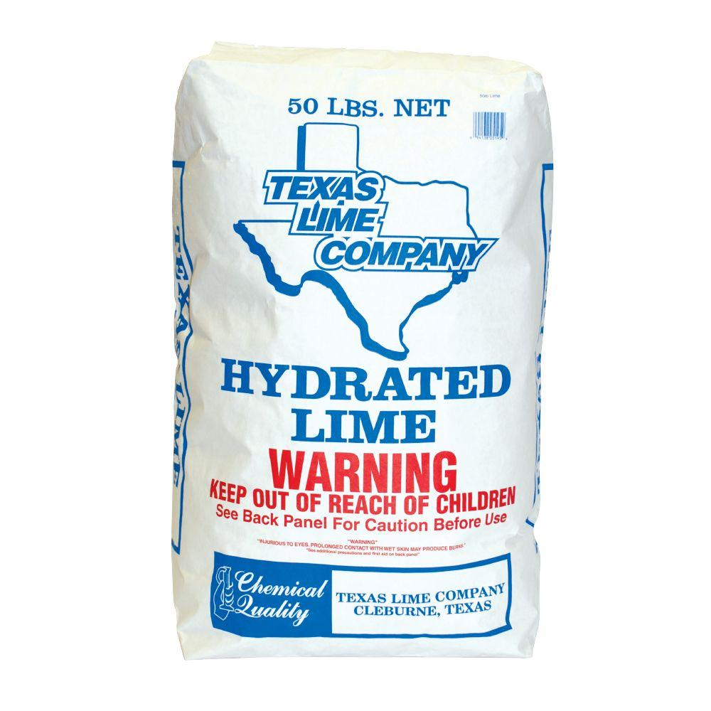TXI 50 lb. Hydrated Lime