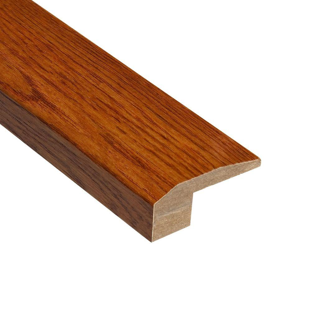 Home Legend High Gloss Oak Gunstock 1/2 in. Thick x 2-1/8 in. Wide x 78 in. Length Hardwood Carpet Reducer Molding