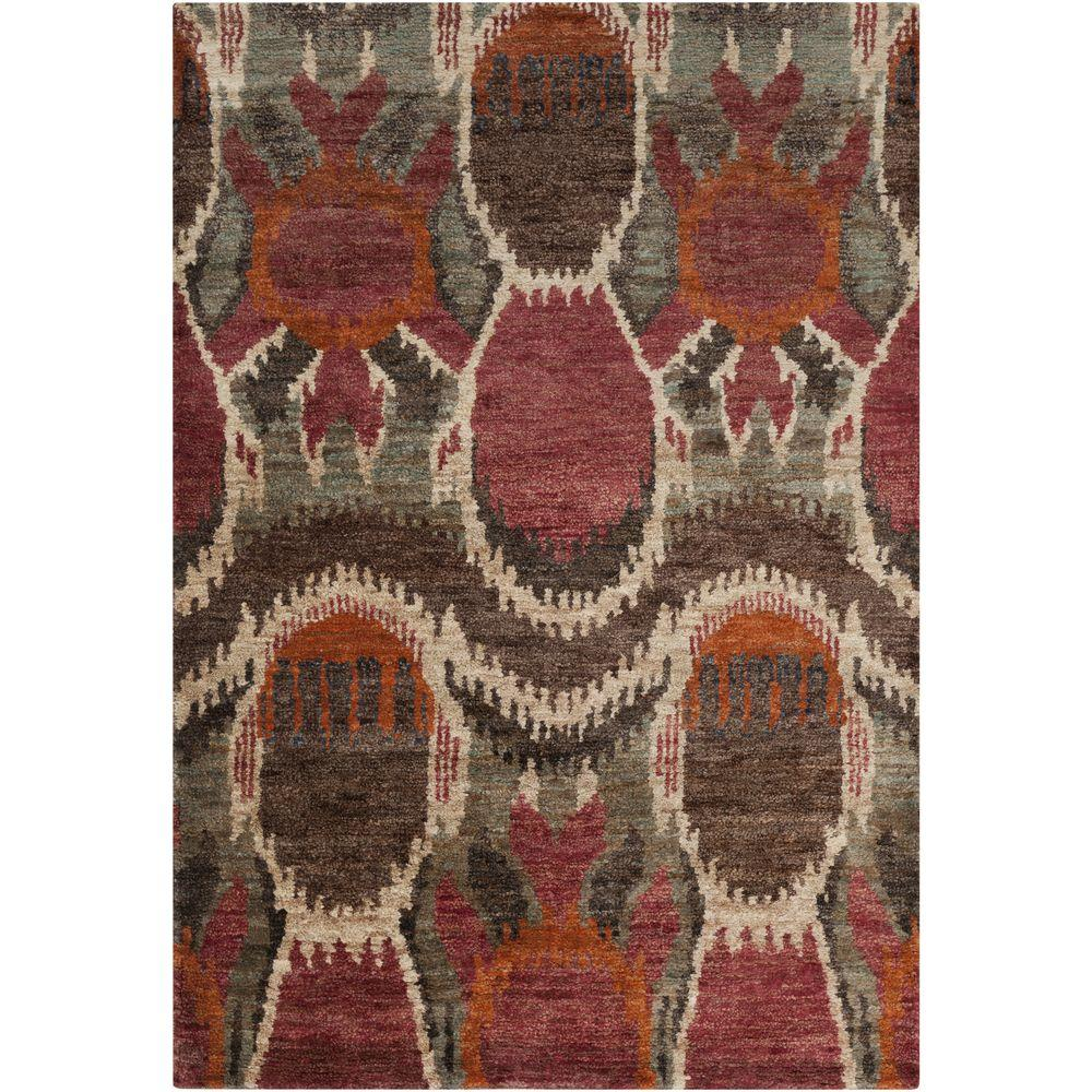 Dyami Cherry (Red) 5 ft. x 8 ft. Indoor Area Rug