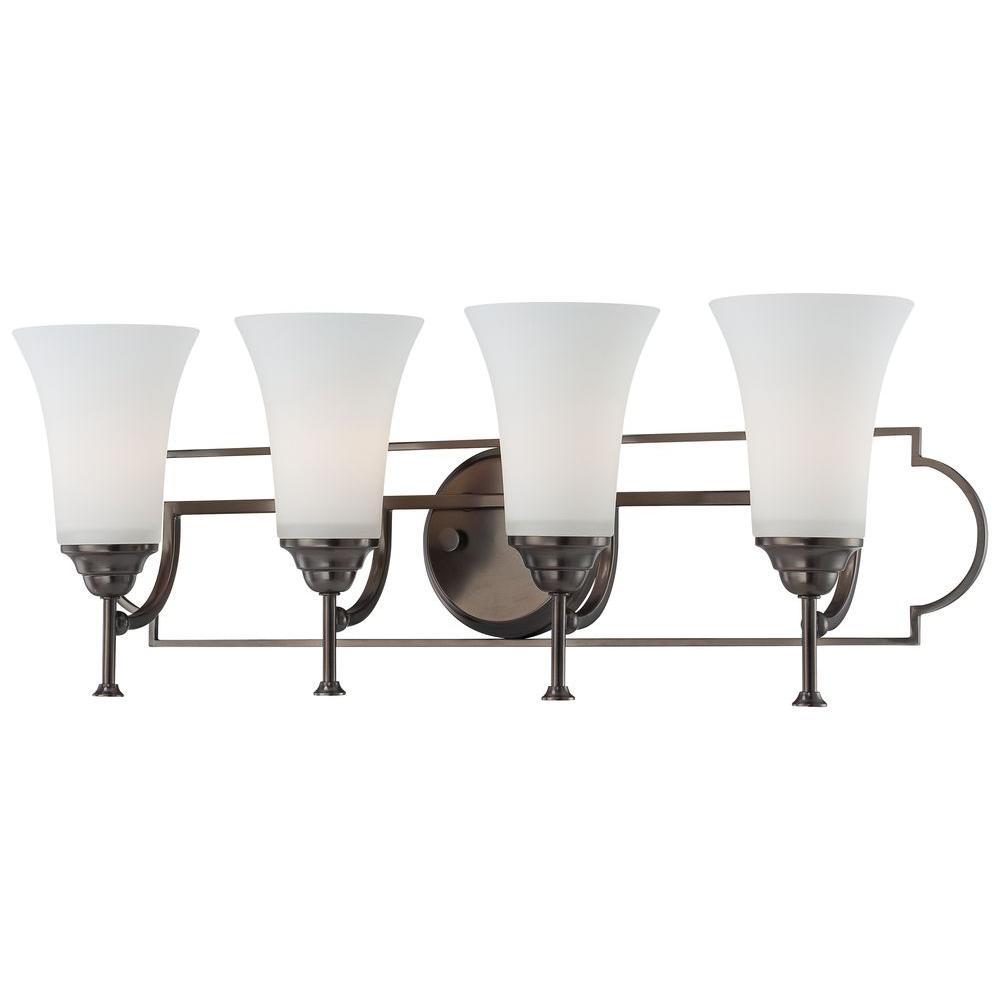 Thomas Lighting Chiave 4-Light Oiled Bronze Wall Vanity-DISCONTINUED