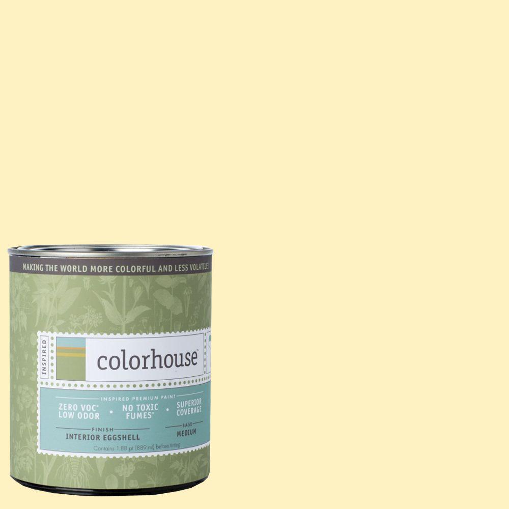 Colorhouse 1-qt. Sprout .04 Eggshell Interior Paint-672143 - The Home Depot