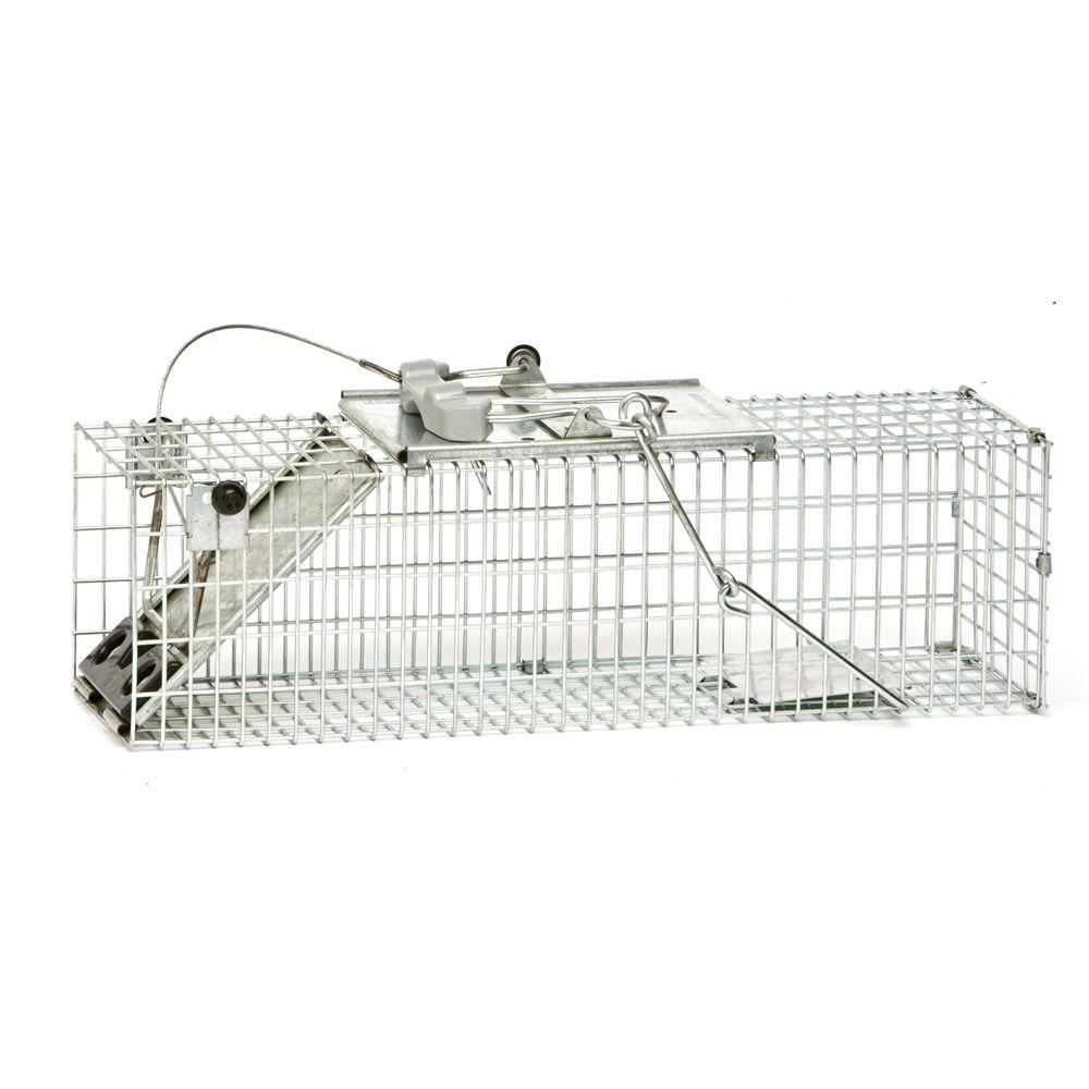 Havahart Small Easy Set Live Animal Cage Trap-1082 - The Home
