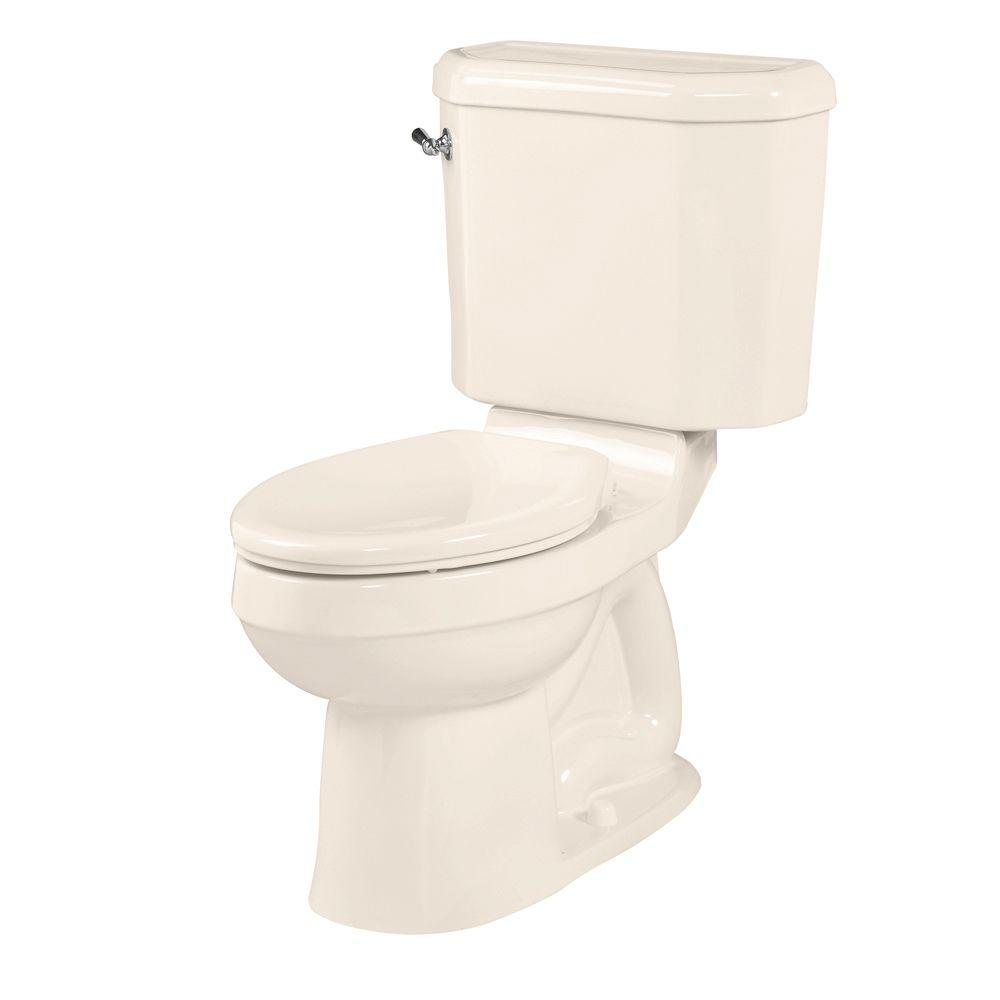American Standard Doral Classic Champion 4 2-Piece 1.6 GPF Right Height Elongated Toilet in Linen
