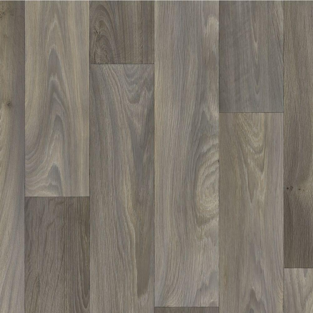TrafficMASTER Greyed Oak Plank 12 ft. Wide x Your Choice Length