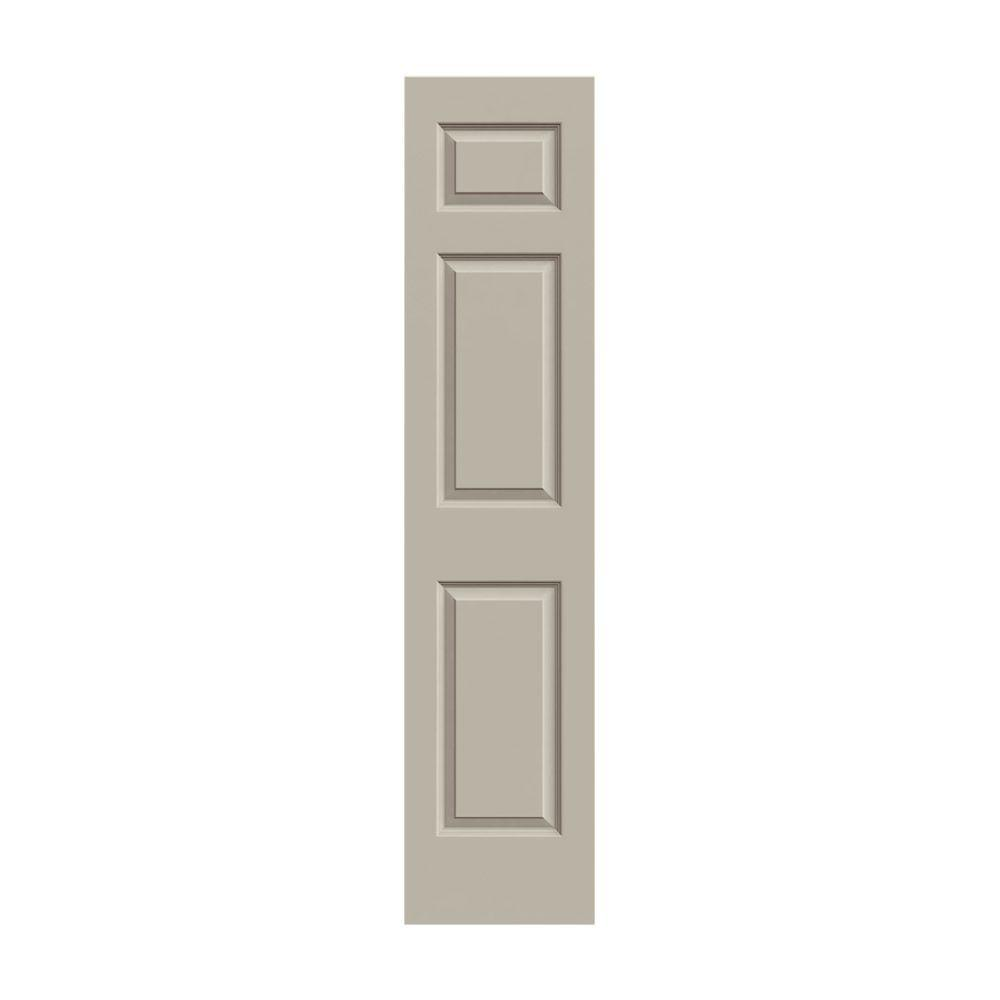 18 0 in x 80 in smooth 6 panel solid core painted molded for 18 six panel interior door