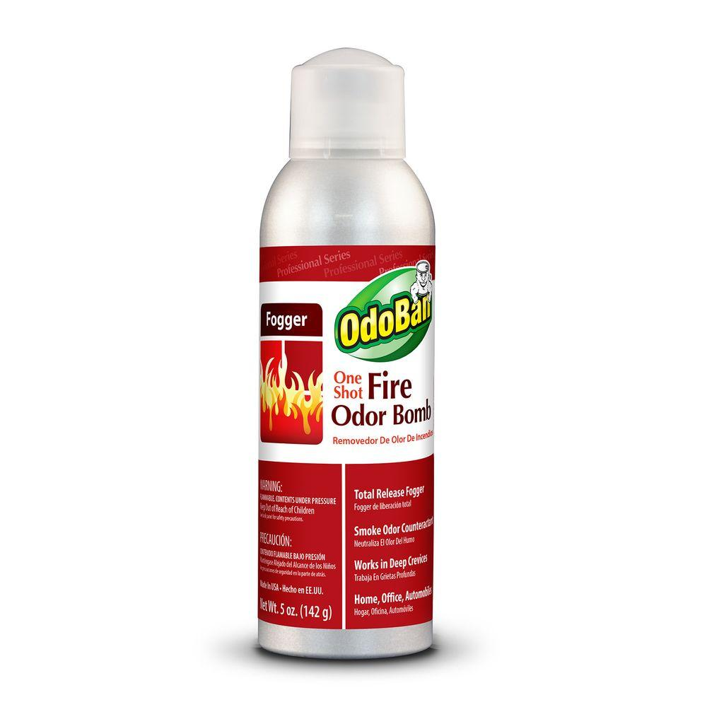 Neutralize the lingering smell off your living space with this One Shot Fire Odor Bomb Fogger from OdoBan. Total release fogger for heavy odor problems.
