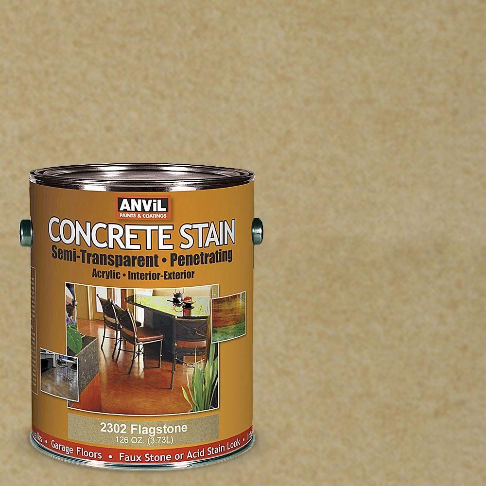 ANViL 1-gal. Flagstone Semi-Transparent/Translucent Concrete Stain-230201 - The