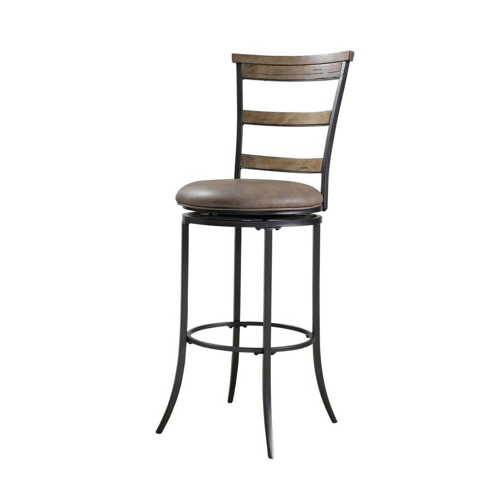 Hillsdale Furniture Charleston Swivel X-Back Counter Stool