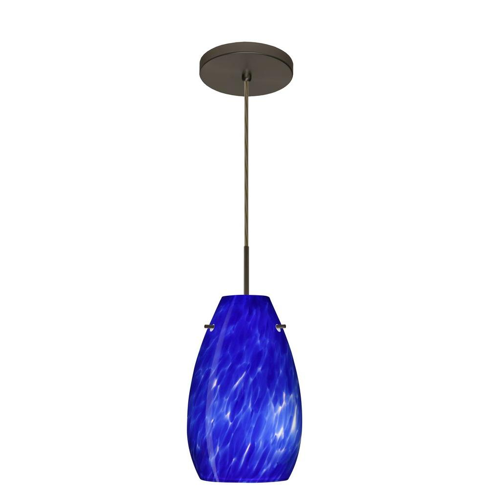 Filament Design 1-Light Bronze with Pendant-CLI-BE1JT-412686-BR - The Home Depot