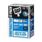 Alex Fast Dry 10.1 oz. Acrylic Latex Plus Silicone Caulk (12-Pack)
