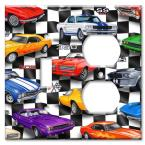 Muscle Cars - Switch / Outlet Combo Wall Plate