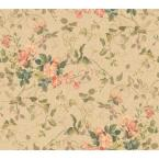 60 sq. ft. Floral Branch Wallpaper