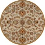 John Gold 6 ft. Round Area Rug