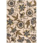 Choele2 Dark Yellow 6 ft. 7 in. x 9 ft. 6 in. Area Rug