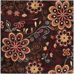 Sarah Brown 9 ft. 9 in. Square Area Rug