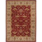 John Red 7 ft. 6 in. x 9 ft. 6 in. Area Rug