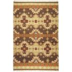Maroa Taupe 9 ft. x 13 ft. Indoor Area Rug