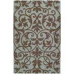 Carriage Trellis Spa 5 ft. x 7 ft. 9 in. Area Rug