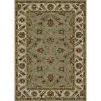 Fairfield Lifestyle Collection Seafoam/Cream 5 ft. x 7 ft. 6 in. Area Rug