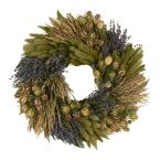 Lavender Grassland 16 in. Dried Floral Wreath