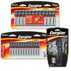 24 AA and 24 AAA Battery Bundled with Hard Case Pro 2 AA LED Task Light